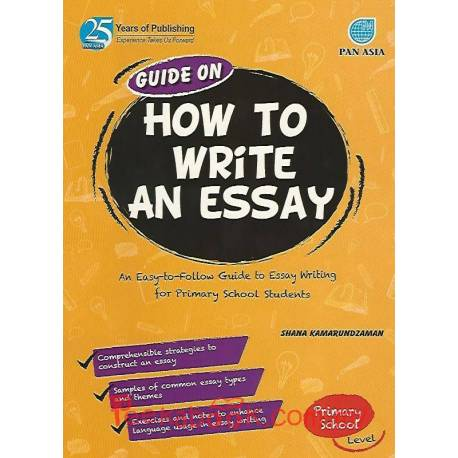 Guide On How To Write An Essay