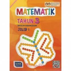 Buku Teks Matematik Tahun 3 SK KSSR Semakan Jilid 1