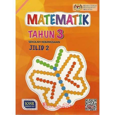 Buku Teks Matematik Tahun 3 SK KSSR Semakan Jilid 2