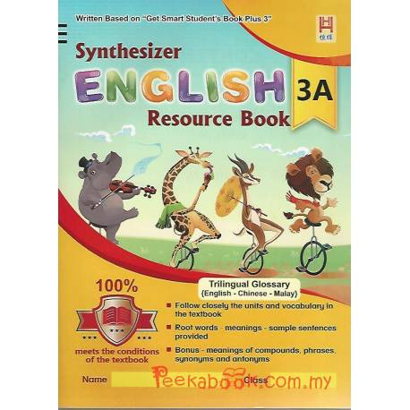 Synthesizer English Resource Book 3A