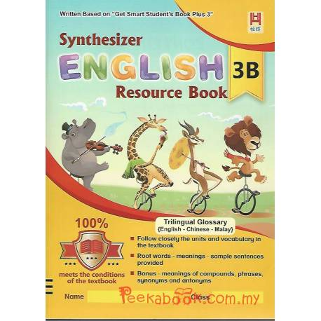 Synthesizer English Resource Book 3B