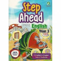 Step Ahead English Year 3 CEFR