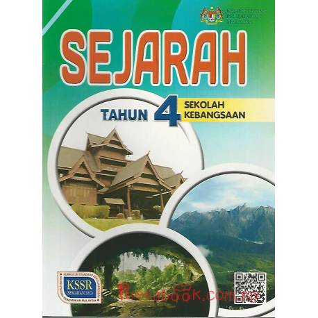 Buku Teks Sejarah Tahun 4 SK KSSR Semakan