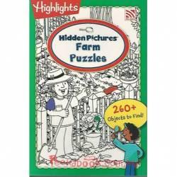 Hidden Picture Farm Puzzles