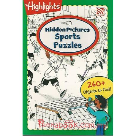 Hidden Picture Sports Puzzles