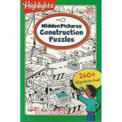 Hidden Picture Construction Puzzles