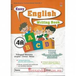 Easy English Writing Book 4A