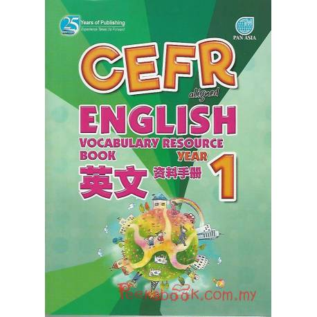 CEFR-aligned English Vocabulary Resource Book Year 1