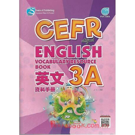 CEFR-aligned English Vocabulary Resource Book Year 3A