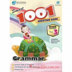 Smart 1001 Question Bank Grammar Year 3 KSSR Semakan