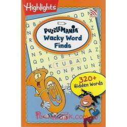 Puzzlemania Wacky Word Finds