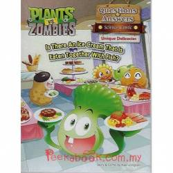 Plants Vs Zombies Questions & Answers Science Comic Unique Delicacies Is There An Ice Cream That Is Eaten Together With Fish?