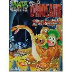 Plants Vs Zombies  Komik Dinosaur Mencari Harta Karun Merentas Zaman Jurasik