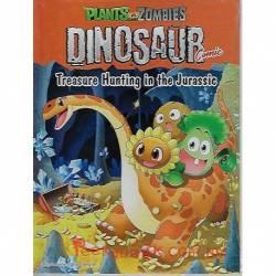 Plants Vs Zombies Dinosaur Comic - Treasure Hunting in the Jurassic