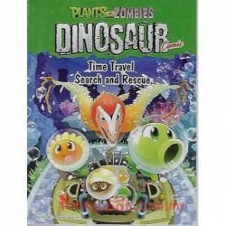 Plants Vs Zombies Dinosaur Comic Time Travel Search and Rescue
