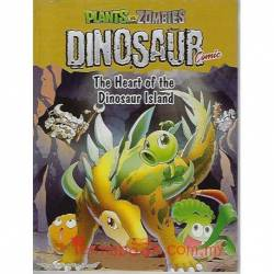 Plants Vs Zombies Dinosaur Comic The Heart of the Dinosaur Island