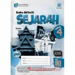 Buku Aktiviti Sejarah Tahun 4 SK KSSR Semakan