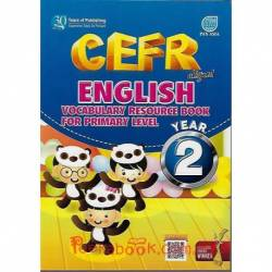 CEFR Aligned English Vocabulary Resource Book For Primary Level Year 2 SK