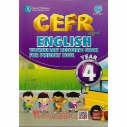 CEFR Aligned English Vocabulary Resource Book For Primary Level Year 4 SK