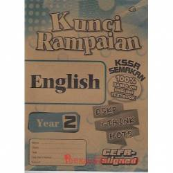 Kunci Rampaian English Year 2 KSSR Semakan