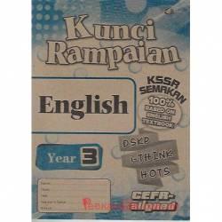 Kunci Rampaian English Year 3 KSSR Semakan