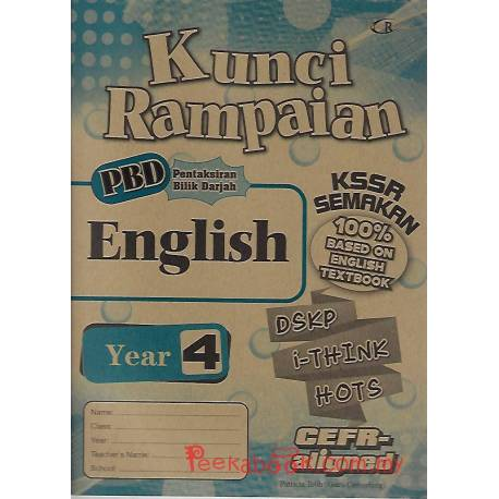 Kunci Rampaian English Year 4 KSSR Semakan
