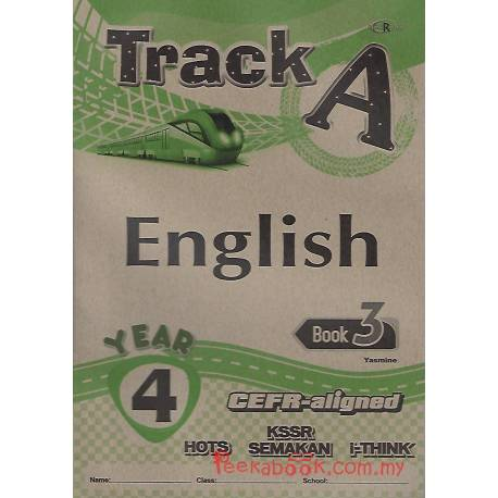 Track A English Book 3 Year 4 CEFR-aligned
