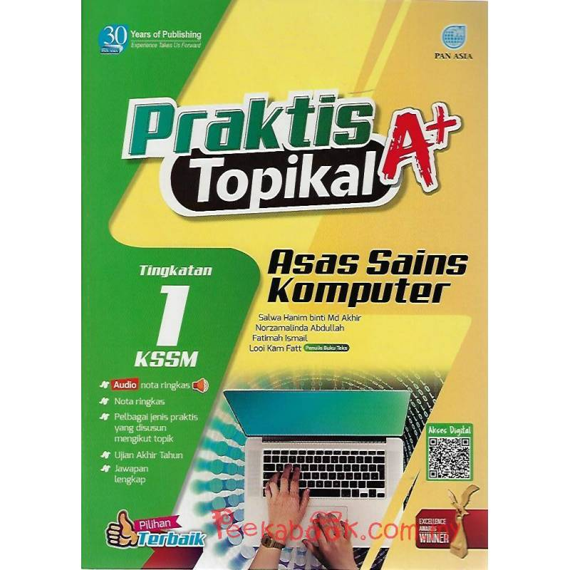 Praktis Topikal A+ Asas Sains Komputer Tingkatan 1 KSSM ...