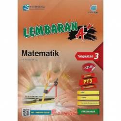 Lembaran A+ Matematik Tingkatan 3 KSSM