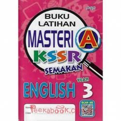 Buku Latihan Masteri A KSSR Semakan English Year 3