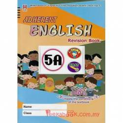 Adherent English Revision Book 5A