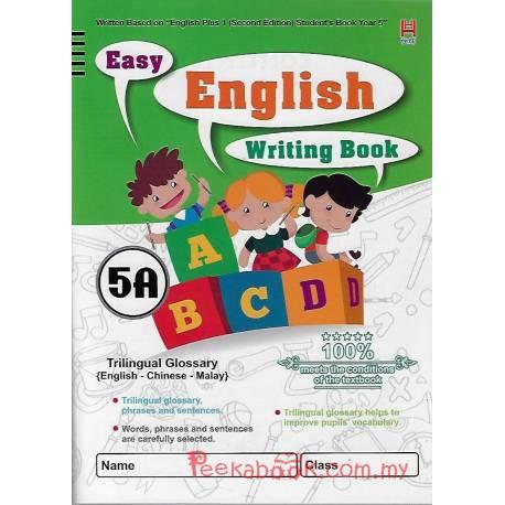Easy English Writing Book 5A
