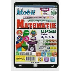 Revisi Mobil Matematik UPSR Tahun 4,5&6