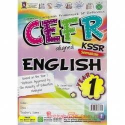CEFR aligned KSSR Semakan English Year 1