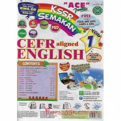 """ACE"" Praktis KSSR Semakan CEFR aligned English Year 1"