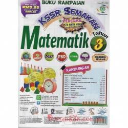 Buku Rampaian KSSR Semakan Matematik Tahun 3