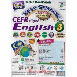 Buku Rampaian KSSR Semakan CEFR aligned English Year 3