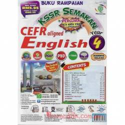Buku Rampaian KSSR Semakan CEFR aligned English Year 4