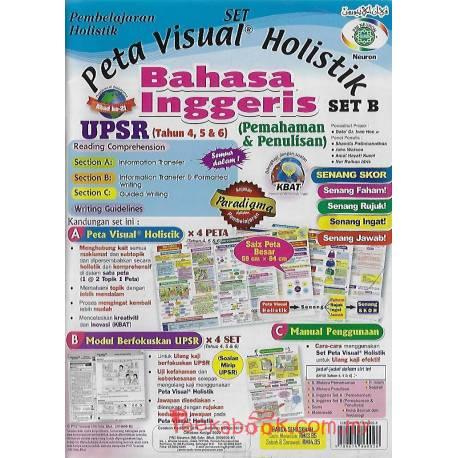 Pembelajaran Holistik UPSR Bahasa Inggeris (Pemahaman & Penulisan) Tahun 4,5&6