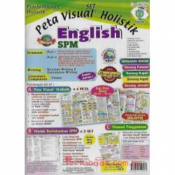 Pembelajaran Holistik SET SPM English Grammar, Writing & Literature Component