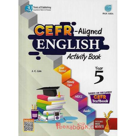 CEFR-Aligned English Activity Book Year 5 SK