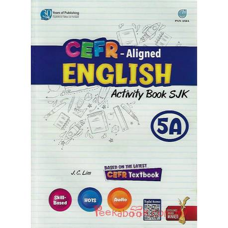 CEFR-Aligned English Activity Book SJK 5A