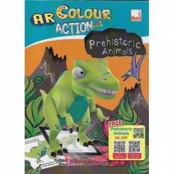 AR Colour Action Prehistoric Animals