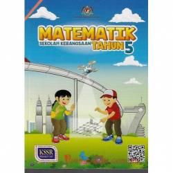 Buku Teks Matematik Tahun 5 SK KSSR Semakan