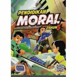 Buku Teks Pendidikan Moral Tahun 5 SK KSSR Semakan