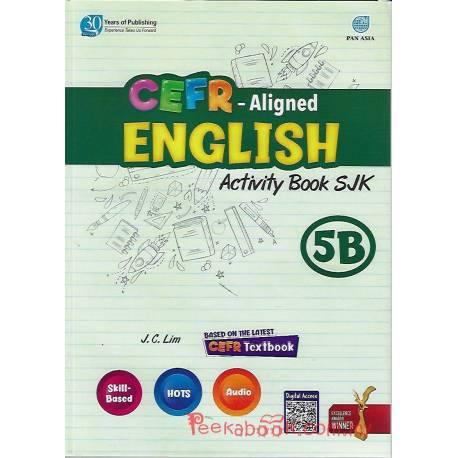 CEFR-Aligned English Activity Book SJK 5B