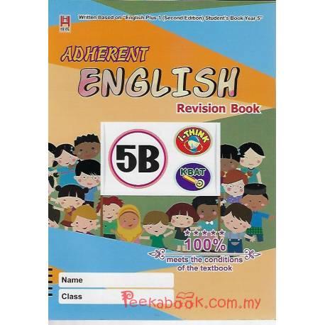 Adherent English Revision Book 5B