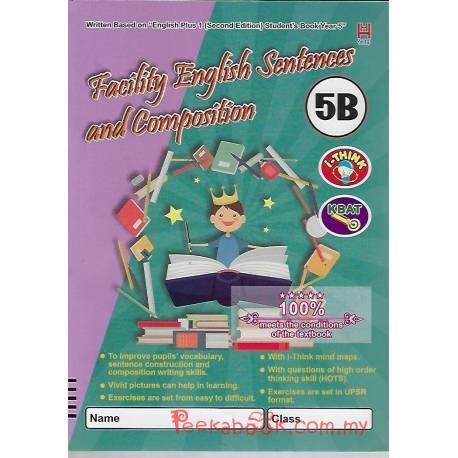 Facility English Sentences and Composition 5B