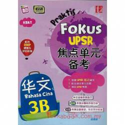 UPSR焦点单元备考 华文3B KSSR Semakan
