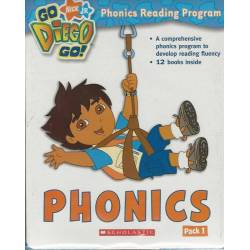 Nick JR Go Diego Go! Phonics Pack 1